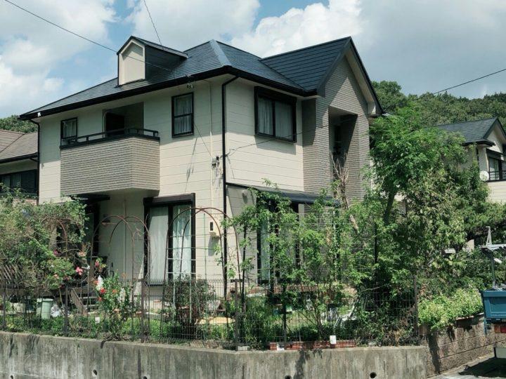 岐阜県H様邸 外壁塗装工事・屋根塗装工事