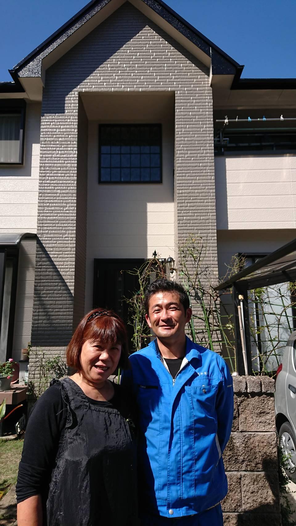 岐阜県H様邸 外壁塗装工事・屋根塗装工事・シーリング工事・付属塗装工事