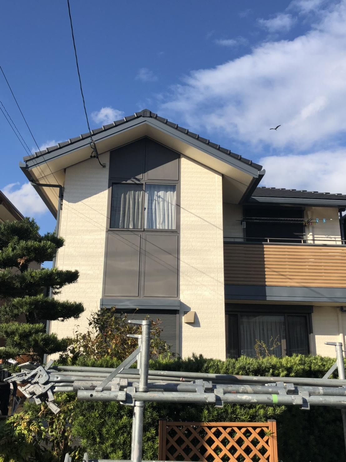 清須市M様邸 外壁塗装工事・シーリング工事・付属塗装工事