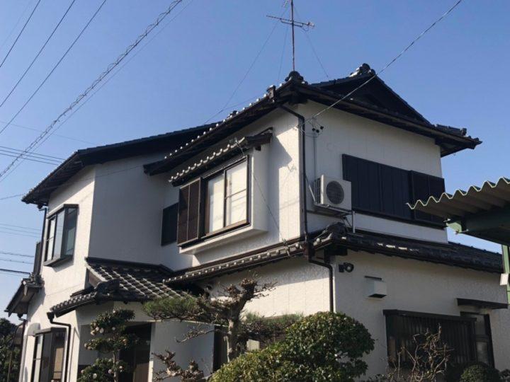 稲沢市M様邸 外壁塗装工事・シーリング工事・付属塗装工事