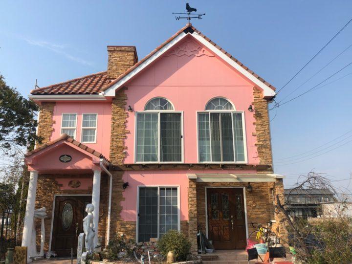 津島市K様邸 外壁塗装工事・屋根塗装工事・シーリング工事・エクステリア工事・漆喰工事