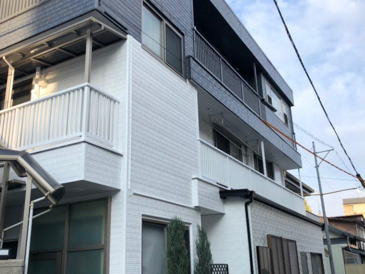 名古屋市西区K様邸 外壁塗装工事・屋根塗装工事・シーリング工事・付属塗装工事