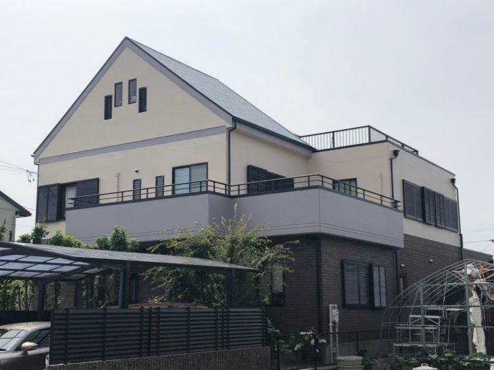 あま市U様邸 外壁塗装工事・屋根塗装工事・シーリング工事・付属塗装工事