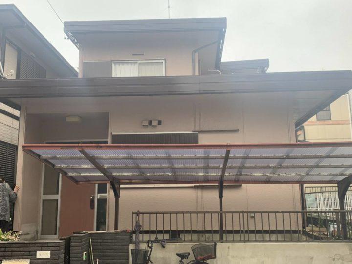江南市I様邸 外壁塗装工事 屋根塗装工事 付属塗装工事