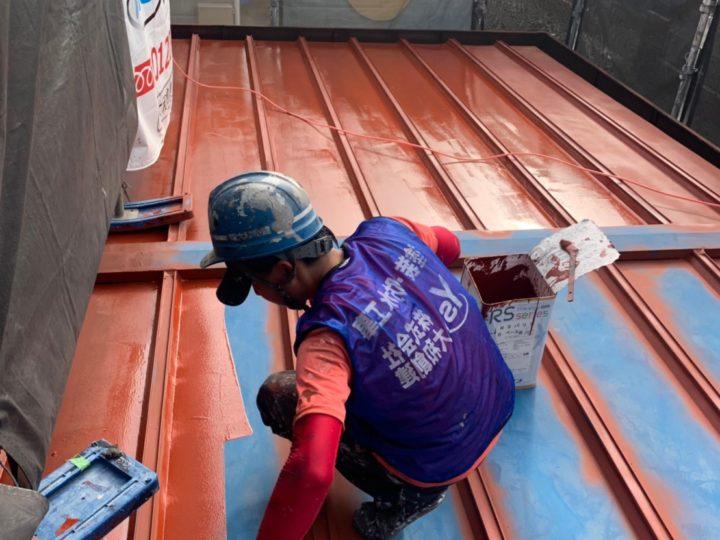 屋根塗装錆止め