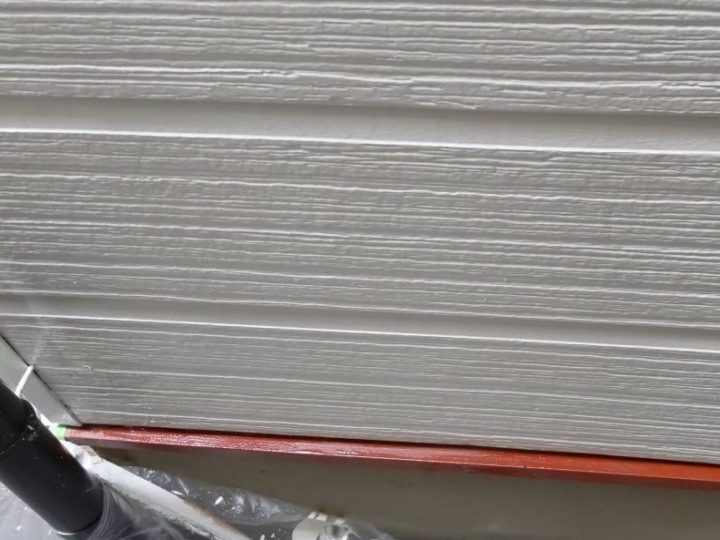 水切り塗装下塗り