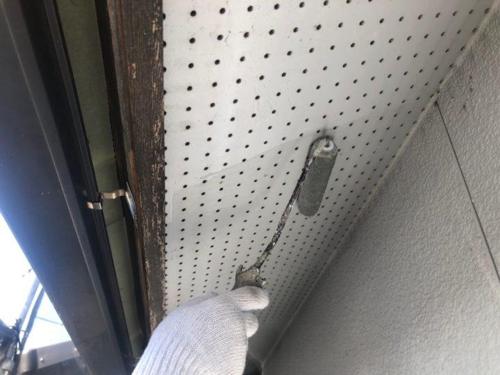 天井塗装下塗り