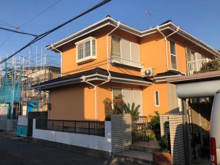 稲沢市S様邸 外壁塗装工事 屋根塗装工事 付属塗装工事