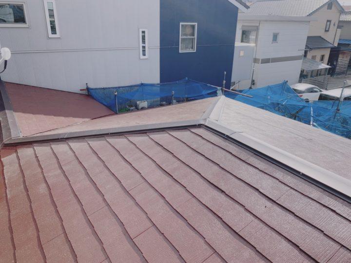 あま市 Y様邸 屋根塗装工事 棟板金交換工事