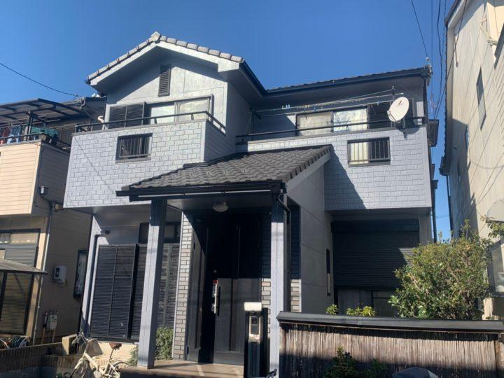 清須市H様邸 ALC 外壁塗装工事 付属塗装工事 シーリング工事