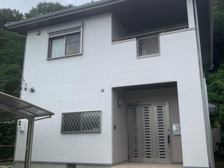 岐阜県加茂郡 O様邸 外壁塗装工事 シーリング工事
