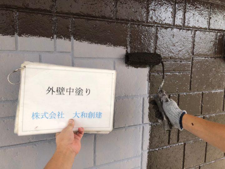 外壁塗装目地色
