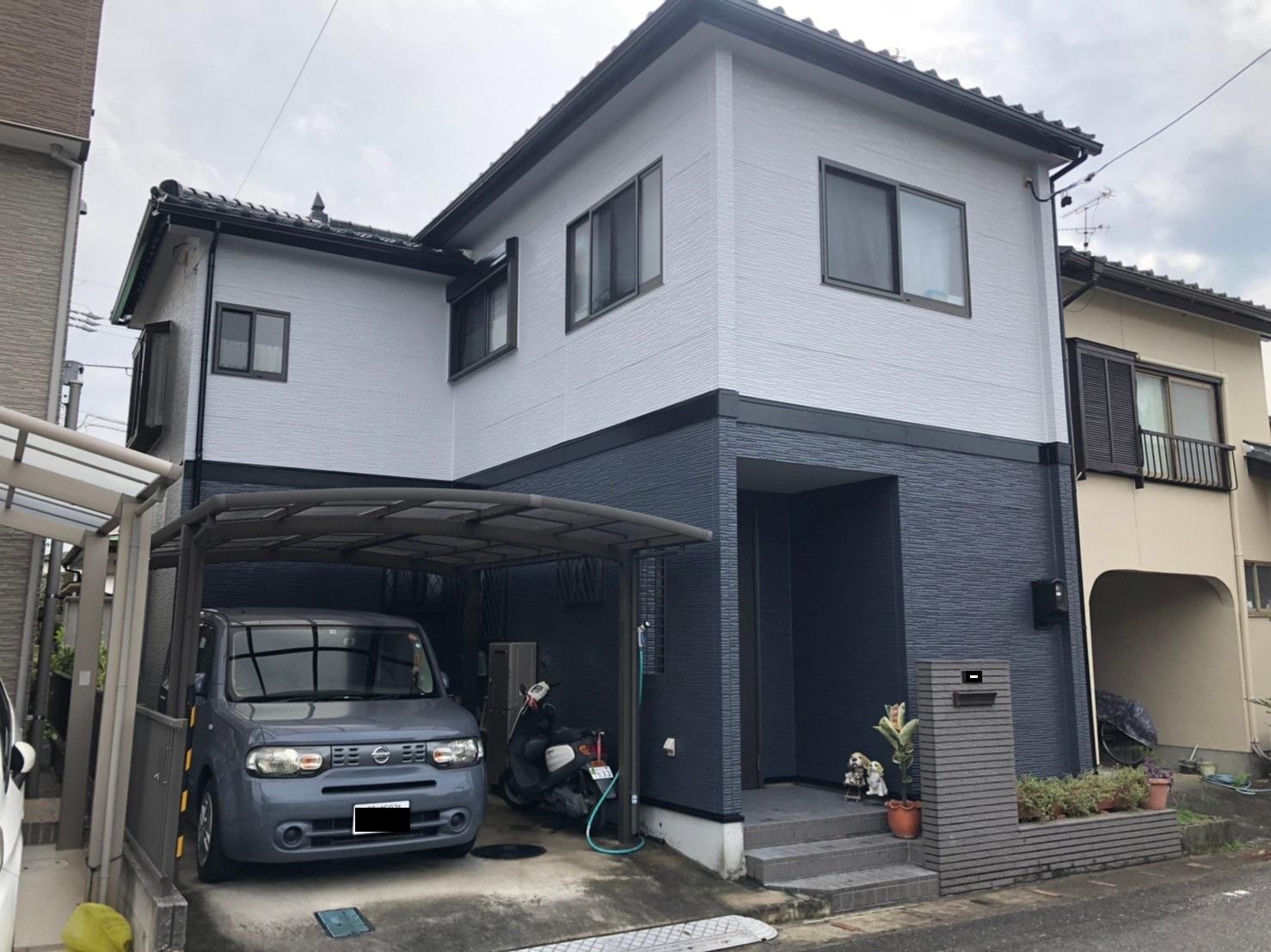 清須市K様邸 外壁塗装工事 付属塗装工事 シーリング工事
