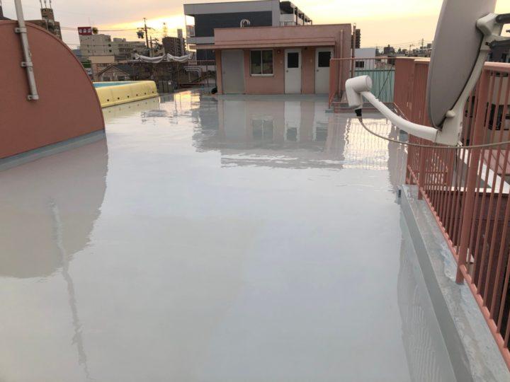 防水2層目完了