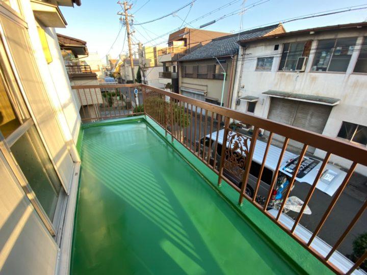 名古屋市中村区M様邸 ウレタン防水工事
