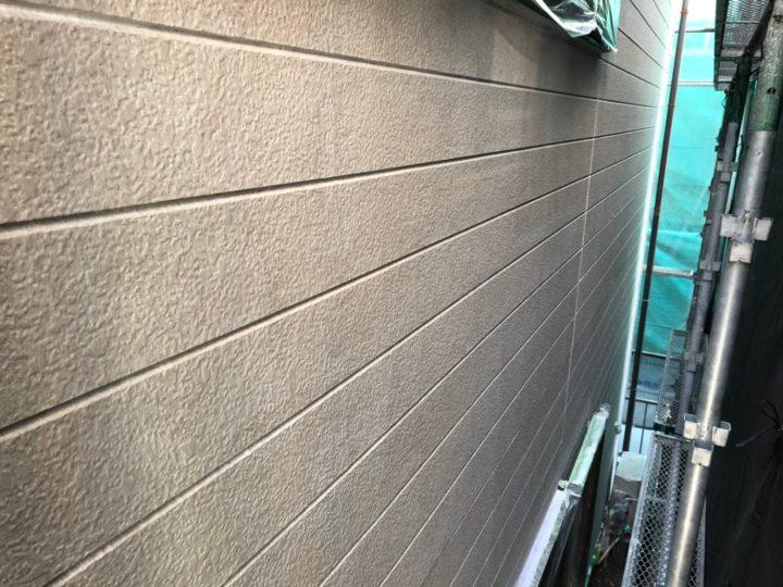 外壁塗装下塗り完了