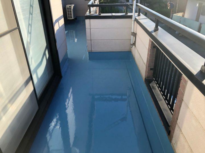 防水塗装2回目完了