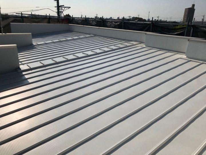 犬山市 S様邸 瓦棒屋根塗装工事