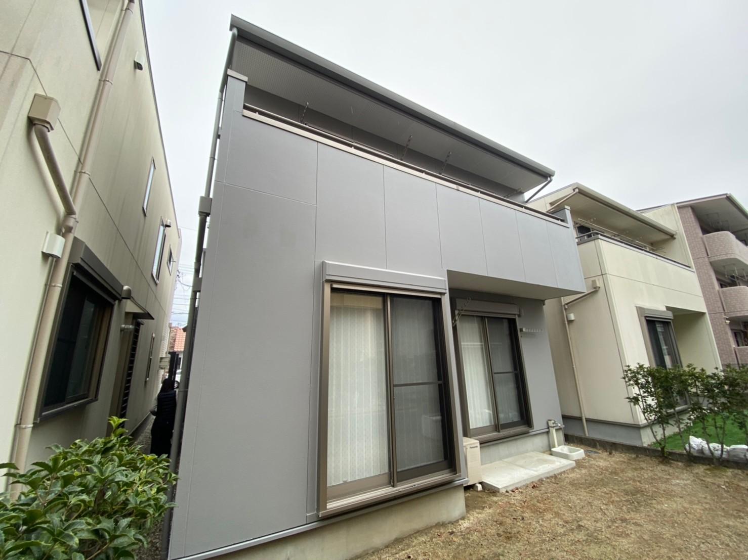 清須市I様邸 外壁塗装工事 付属塗装工事 シーリング工事