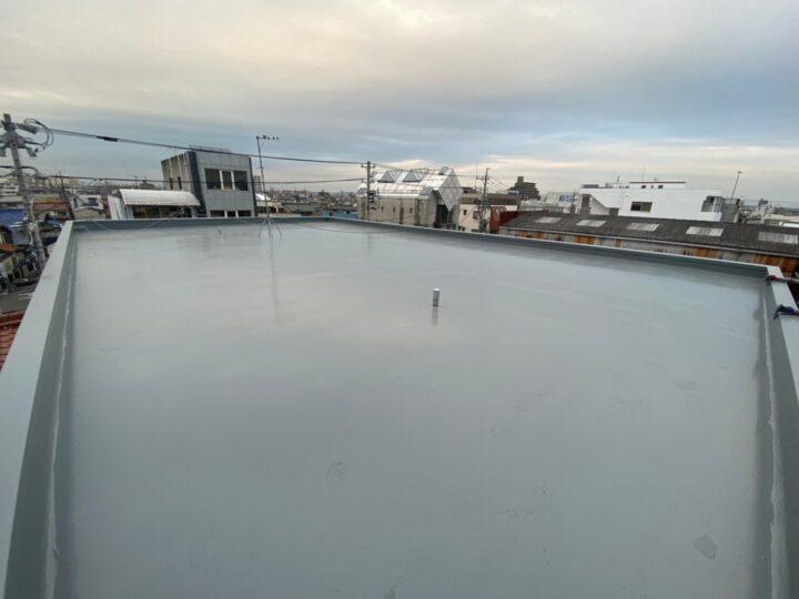 名古屋市北区 T様邸 屋上防水工事 ウレタン通気緩衝工法