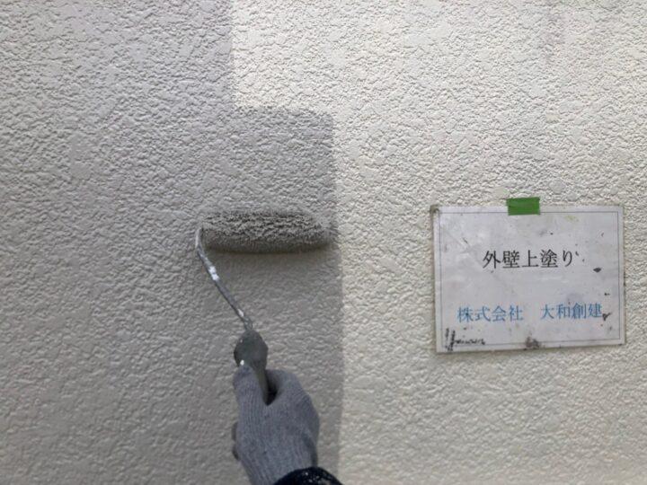 外壁上塗り1