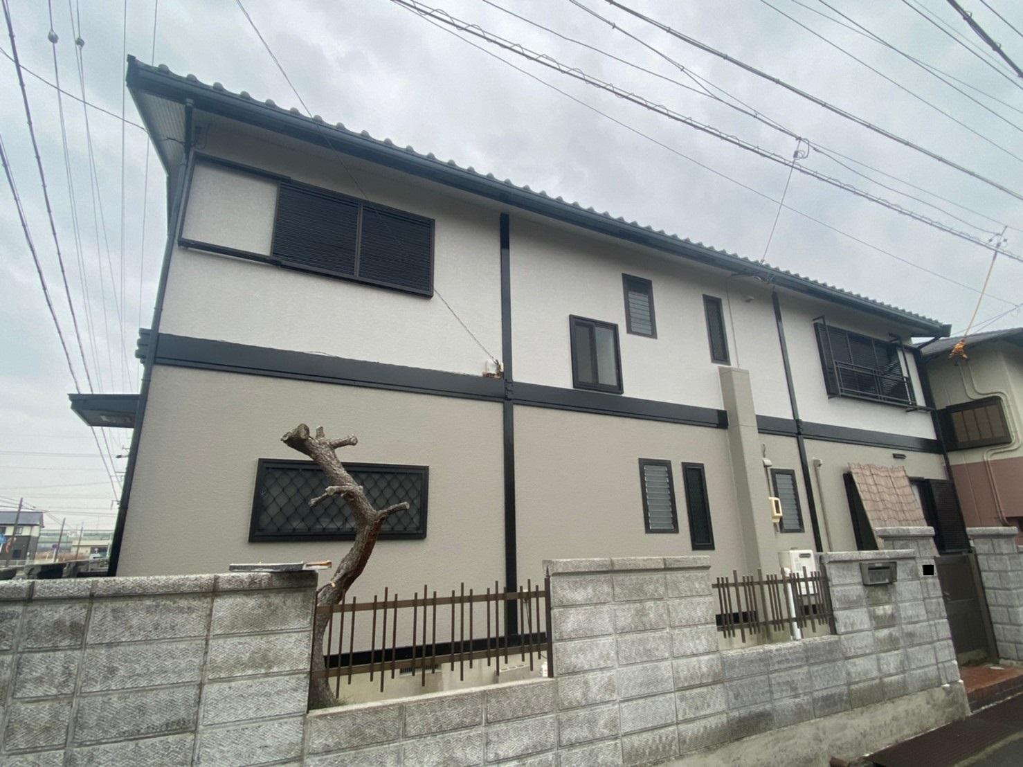 清須市 K様 外壁塗装工事 シーリング工事 付属塗装工事