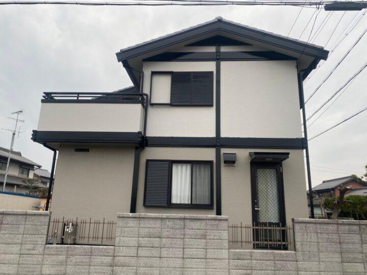 清須市 K様邸 外壁塗装工事 付属塗装工事 シーリング工事