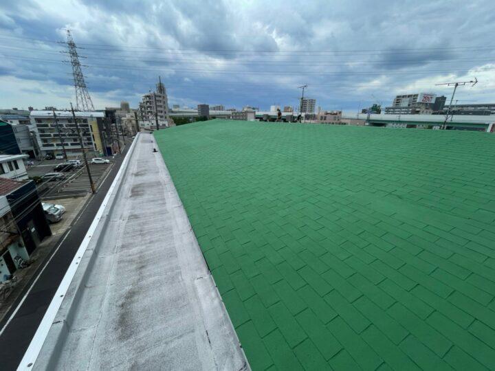 名古屋市名東区 Kオーナー様 マンション屋上屋根防水工事