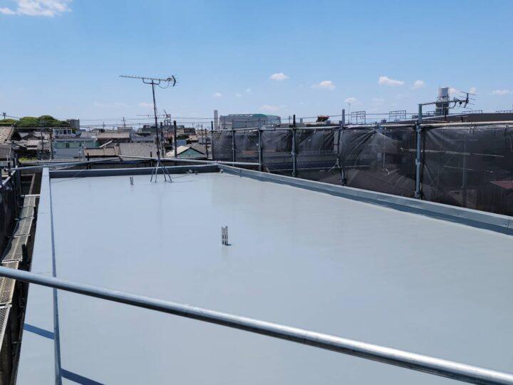 清須市 T様 屋上防水工事 通気緩衝工法