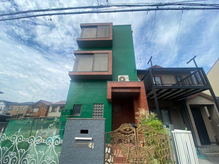 清須市 T様邸 外壁塗装工事 付属塗装工事 シーリング工事 屋上・ベランダ防水工事