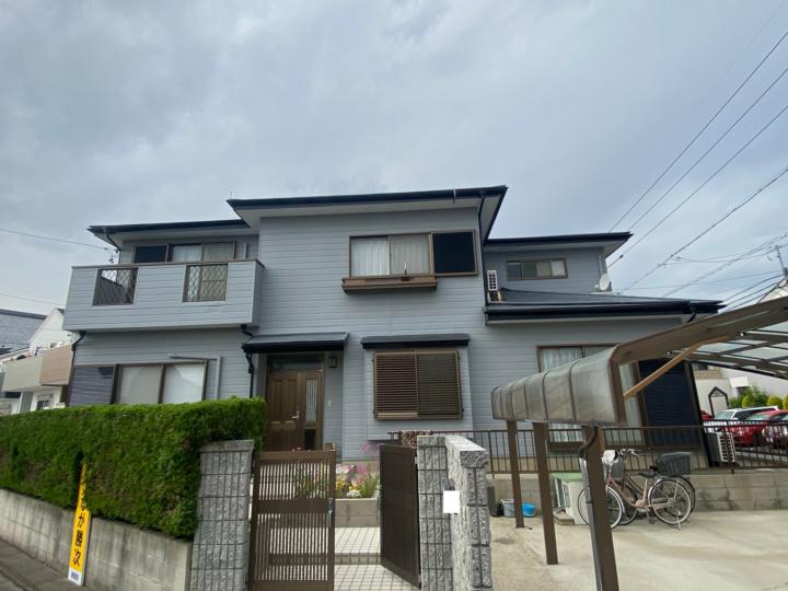 清須市 W様 外壁塗装工事 付属塗装工事 シーリング工事