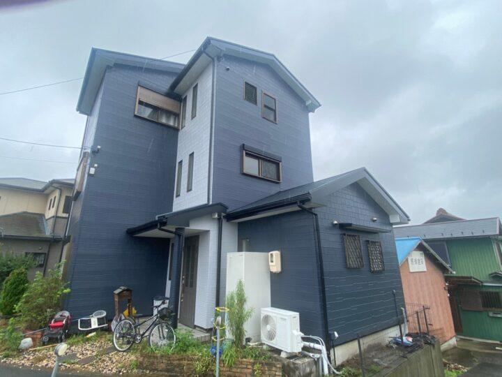 稲沢市 K様 外壁塗装工事 屋根塗装工事 シーリング工事 付属塗装工事