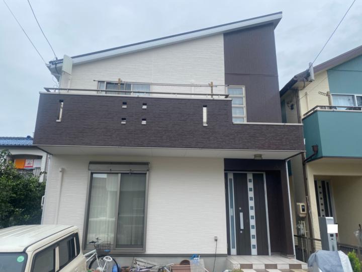 清須市 Y様 外壁塗装工事 屋根塗装工事 シーリング工事 付属塗装工事