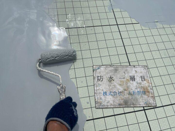 防水塗装1層目