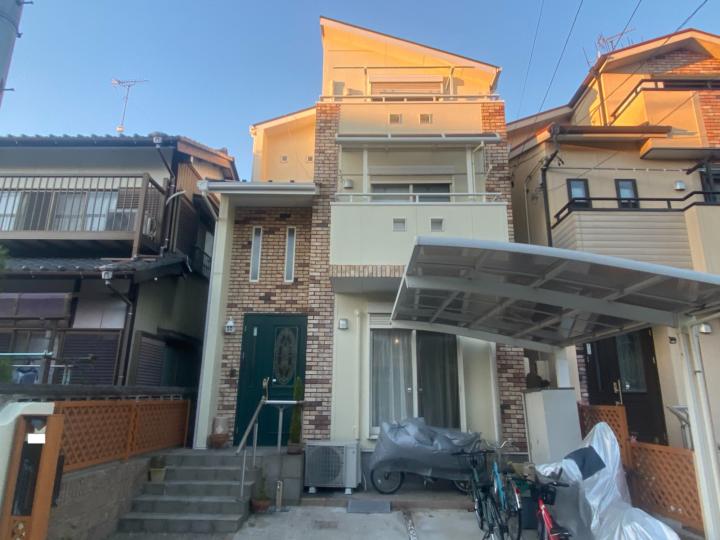 清須市 K様邸 屋根塗装工事 外壁塗装工事 シーリング工事 付属塗装工事