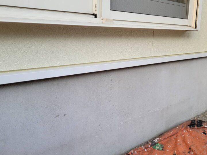 水切り板金塗装完了