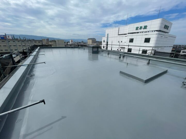 屋上防水工事完了